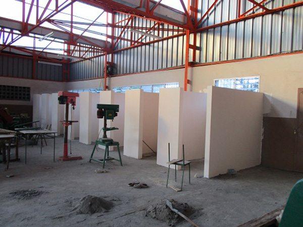 Box atelier métallique